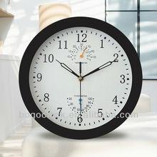 10'' inch Plastic quartz wall clocks home decor