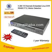 Portable H 264 16 CH Mini DVR / DVR Camera