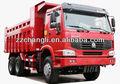 Camión volquete 6 ruedas, automático camiones remolque camión volquete 10 ton camión volquete