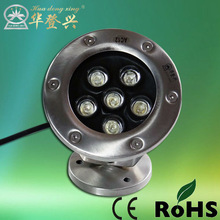 2013 elaborate 6w underwater led lights with high security