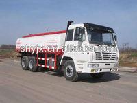 21CBM 6X4 Crude Oil New Fuel Tanker Trucks