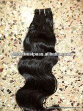 2012 best selling Grade AAAAA 100% human hair natural black unprocessed virgin russian hair