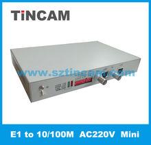 E1 converter G703 to LAN Ethernet converters