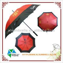 "27"" Funny golf advertising fiberglass umbrella"