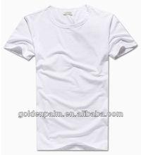 wholesale chinese thick plain white t-shirts
