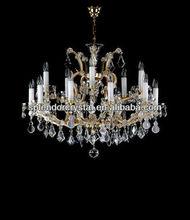 Maria Theresa Elegant Bohemian 30% PbO Crystal Chandelier