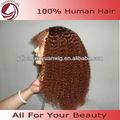 Curta peruca de cabelo crespo 33#