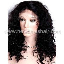 Deep wave synthetic wig