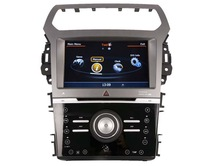 WITSON A8 Chipset FORD EXPLORER 2012 car audio HD 1080P 1G CPU 512M RAM 3G/ wifi/DVR (Option) with iPhone ready