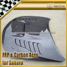 For Subaru Impreza GRB Carbon Fiber CS-Style Vented Hood Bonnet
