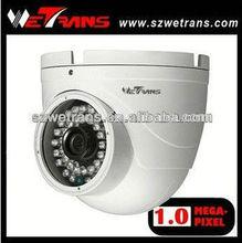 WETRANS TR-SIPD134 1/3'' CMOS Sensor Metal IR Dome h.264 video compression ip camera