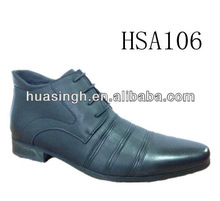 lace up uniform style low cut Eastern Europe popular winter dress shoes men