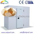 De almacenamiento en frío de contenedores para queso