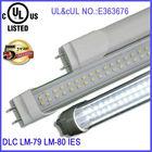 internal/external driver t8 led tube 18w ul E363676 50000 hours lifespan