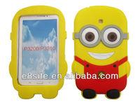 Cute Cartoon 3D Silicone Cover For SamSung Galaxy Tab 3 P3200