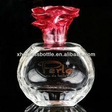 60ml transparent bottle for Eau de perfume bottle for women