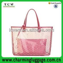 China manufacturer beach pvc bags/clear pvc beach totes bag