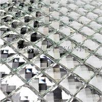 12x12 Mosaic Tile Square Decorative Small Mirror Tile