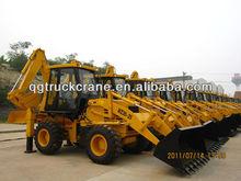 Qingong wheel loader backhoe WZ30-25 with Cummins Engine/Load capacity:2500kg