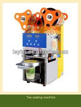 Plastic Paper Cup Automatic Sealing Machine, Auto Cups Sealer, Tea sealing machine