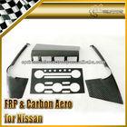 For Nissan R35 GTR OEM Style Carbon Fiber Radio Surround Left Hand Drive