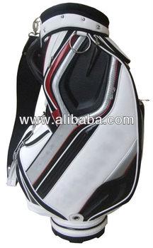 "Personalized Custom Cart Golf Bag China Manufactuer 9.5"" PU/Crystal Leather Golf Bag with Rainhood"