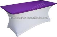 Lycra/Spandex table cloth