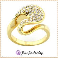 fashion odd hot sale luxury diamond gold ring