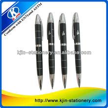 High Quality Cap Hotel Metal Roller Ball Pen/promotioanl ball pen