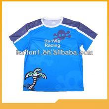 100% polyester promotional men printing tshirts