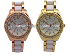 new arrival crystal waterproof best gift valentine quartz watches with 2035 movt