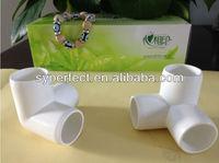 Plastic PVC Pipe Fitting 3 Ways Elbow Dimension Degree Pvc Pipe Elbow Dimensions Wholesalers