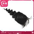 fábrica de moda distribuidores para 2013 laço de seda topo encerramento de cabelo indiano virgem de encerramento