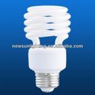 T2 half spiral compact fluorescent lamp low energy consumption E27