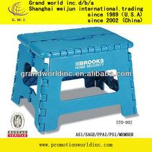 22 cm height folding stool/plastic folding foldable stool /stool chair