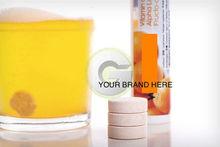 Effervescent Vitamin C in tubes