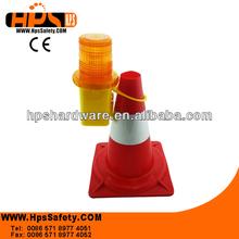 Brilliant Fluorescent Red/Orange Caution Street Cone