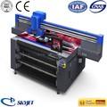 De alta eficiencia skyjet uv de cama plana digital medidor de rodillo de la impresora ft2512r/rollo de máquinas de impresión digital