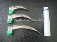 single use conventional lamp laryngoscope macintosh style