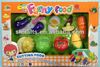 Kids funny Plastic kitchen play cutting vegetable and fruits set toys