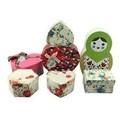 2014 di alta qualità maniglia fustellata scatola di carta da regalo