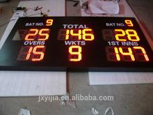2015 new type Outdoor LED Cricket Digital Scoreboard