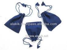 Blue Velvet pouch