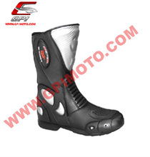 Motorcycle leather shoes