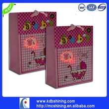 2014 New Product Glitter LED Shopping Bag