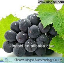 Natural grape seed P.E. Polyphenols (High quality GMP factory)