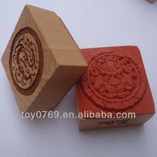 chinesische traditionelle handwerk holz stempel charakter