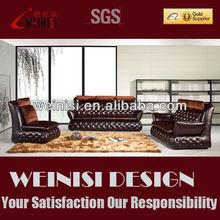 Foshan furniture factory ,Italian sofa style, imported leather sofa H1066