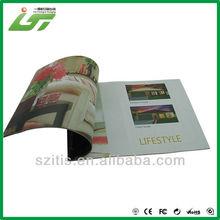 simple binding advertising brochures samples factory