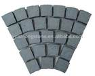High quality granite cobble paving stone